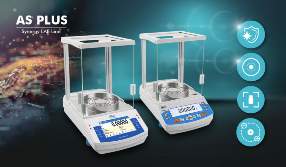 analytical balance as plus